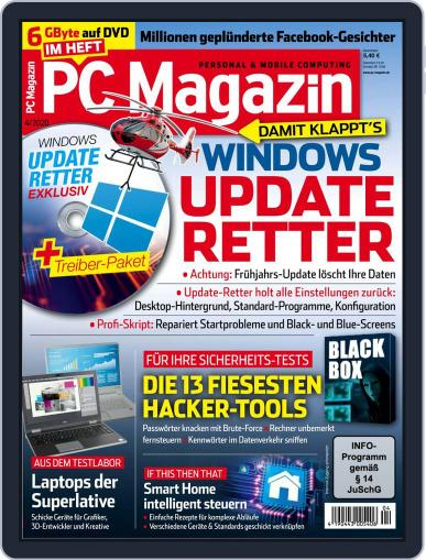 PC Magazin April 1st, 2020 Digital Back Issue Cover