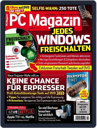 PC Magazin (Digital) February 1st, 2020 Issue Cover