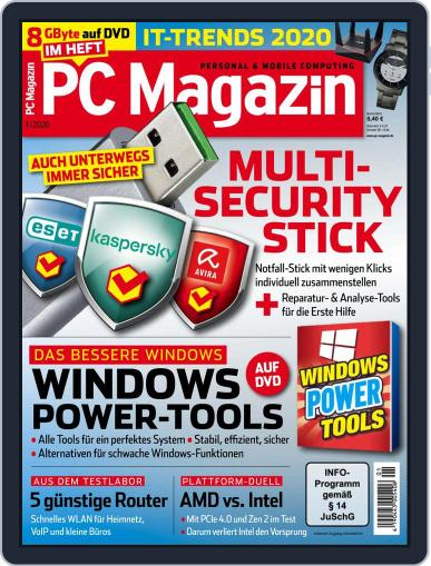 PC Magazin (Digital) January 1st, 2020 Issue Cover
