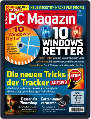 PC Magazin (Digital) August 1st, 2019 Issue Cover