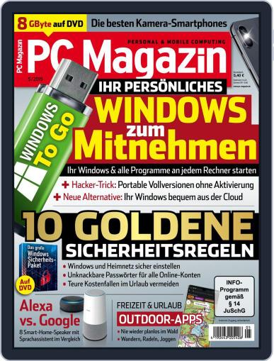 PC Magazin (Digital) May 1st, 2019 Issue Cover