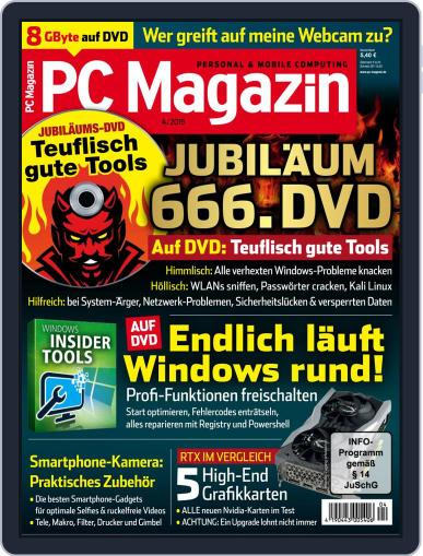 PC Magazin (Digital) April 1st, 2019 Issue Cover