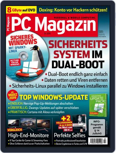 PC Magazin (Digital) March 1st, 2019 Issue Cover