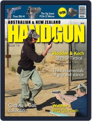 Australian & New Zealand Handgun Magazine (Digital) January 1st, 2018 Issue Cover