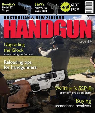 Australian & New Zealand Handgun Magazine (Digital) March 17th, 2016 Issue Cover