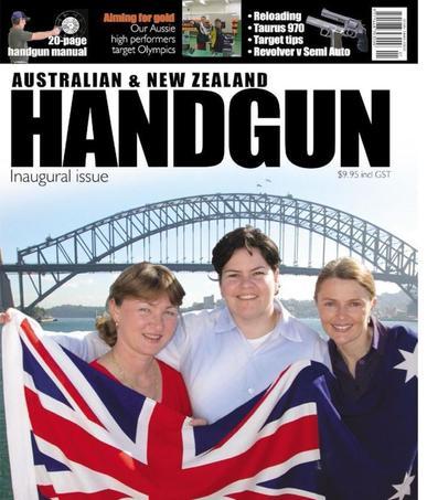 Australian & New Zealand Handgun Magazine (Digital) February 15th, 2016 Issue Cover