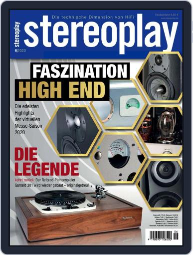 stereoplay June 1st, 2020 Digital Back Issue Cover