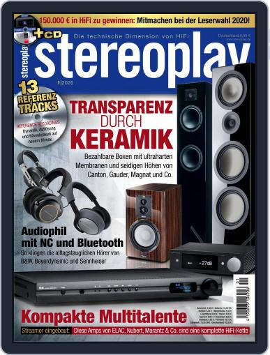 stereoplay December 6th, 2019 Digital Back Issue Cover