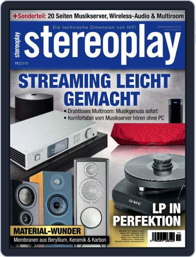 stereoplay November 1st, 2019 Digital Back Issue Cover