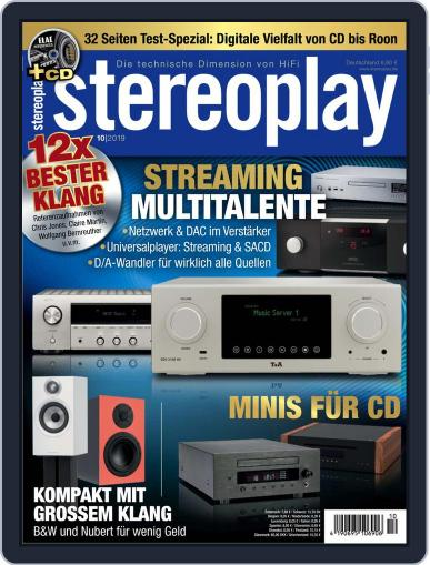 stereoplay October 1st, 2019 Digital Back Issue Cover