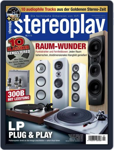 stereoplay September 1st, 2019 Digital Back Issue Cover