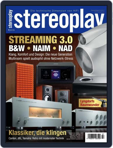 stereoplay July 1st, 2019 Digital Back Issue Cover