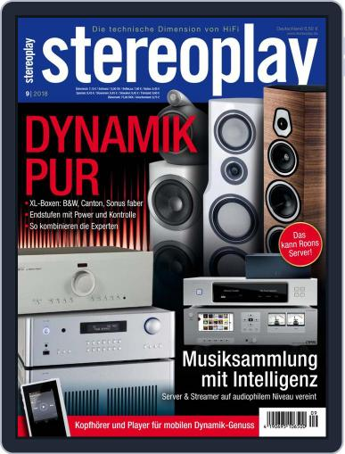 stereoplay September 1st, 2018 Digital Back Issue Cover