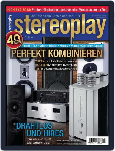 stereoplay July 1st, 2018 Digital Back Issue Cover