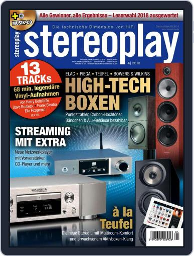 stereoplay April 1st, 2018 Digital Back Issue Cover