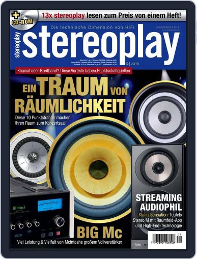 stereoplay January 5th, 2018 Digital Back Issue Cover