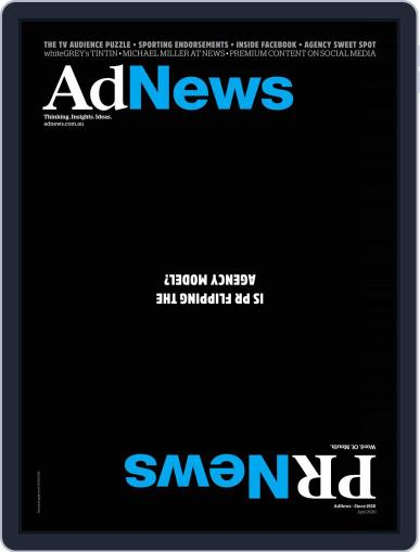 AdNews (Digital) April 1st, 2020 Issue Cover