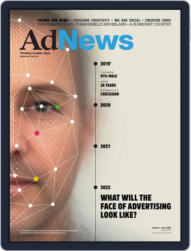 AdNews March 1st, 2020 Digital Back Issue Cover