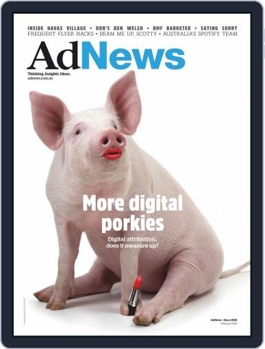 AdNews (Digital) February 1st, 2020 Issue Cover