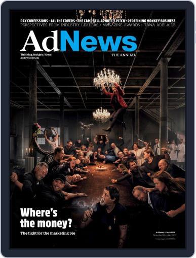 AdNews (Digital) November 1st, 2019 Issue Cover