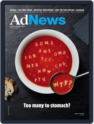 AdNews May 1st, 2019 Digital Back Issue Cover