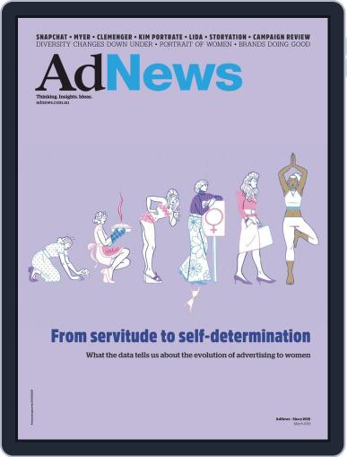AdNews (Digital) March 1st, 2019 Issue Cover