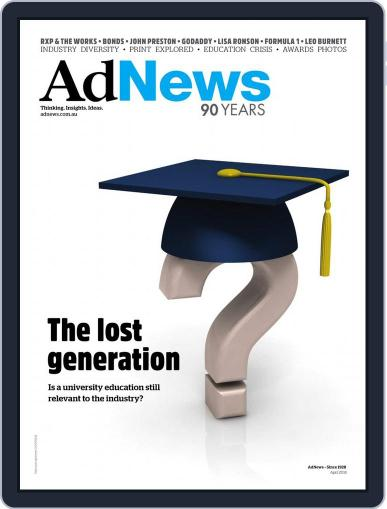 AdNews April 1st, 2018 Digital Back Issue Cover
