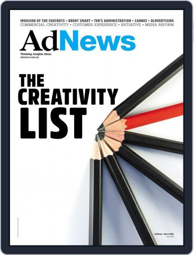 AdNews July 1st, 2017 Digital Back Issue Cover