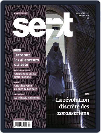 Sept (Digital) December 1st, 2015 Issue Cover