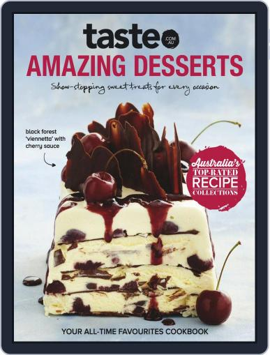 taste.com.au Cookbooks October 1st, 2018 Digital Back Issue Cover