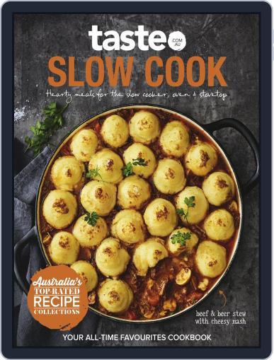 taste.com.au Cookbooks June 3rd, 2018 Digital Back Issue Cover