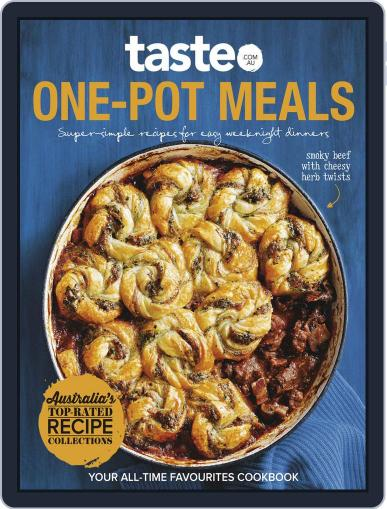 taste.com.au Cookbooks May 6th, 2018 Digital Back Issue Cover
