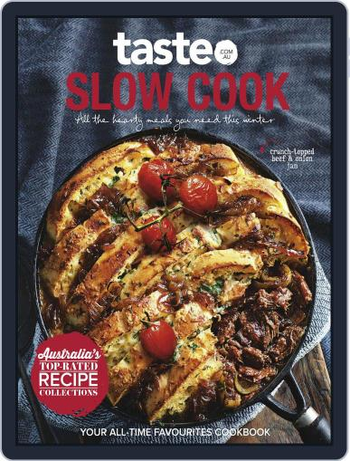 taste.com.au Cookbooks June 4th, 2017 Digital Back Issue Cover