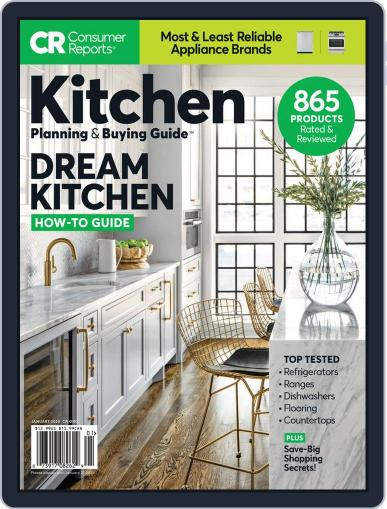 Consumer Reports Kitchen Planning and Buying Guide (Digital) January 1st, 2020 Issue Cover