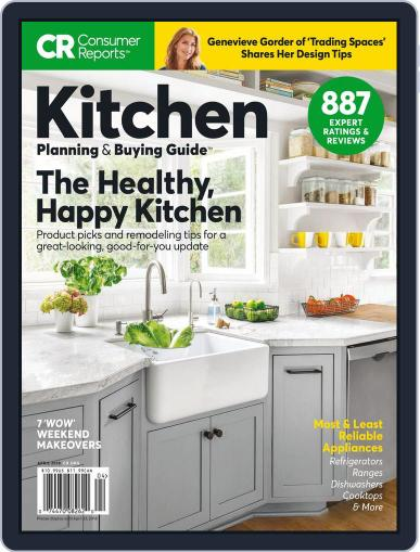 Consumer Reports Kitchen Planning and Buying Guide (Digital) April 1st, 2018 Issue Cover
