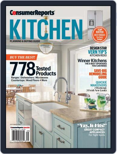 Consumer Reports Kitchen Planning and Buying Guide (Digital) September 1st, 2016 Issue Cover