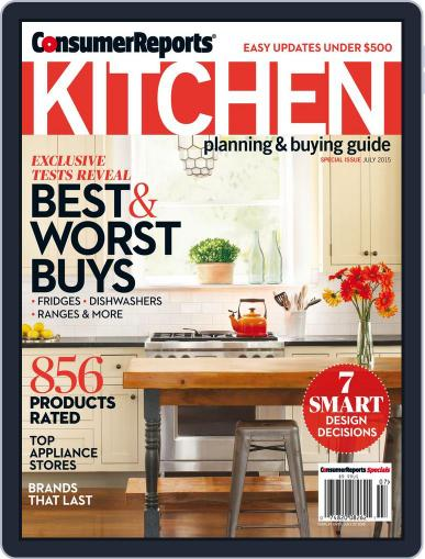 Consumer Reports Kitchen Planning and Buying Guide (Digital) May 26th, 2015 Issue Cover
