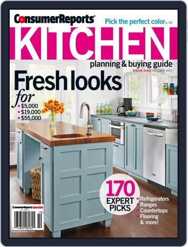 Consumer Reports Kitchen Planning and Buying Guide (Digital) August 12th, 2014 Issue Cover