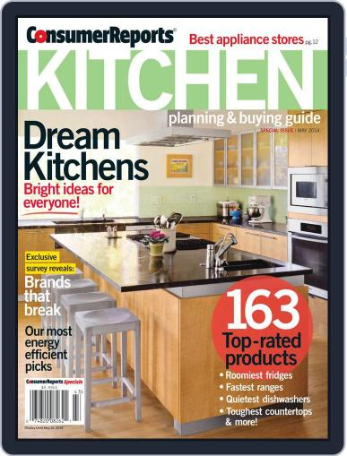 Consumer Reports Kitchen Planning and Buying Guide (Digital) June 5th, 2014 Issue Cover