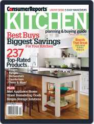 Consumer Reports Kitchen Planning and Buying Guide (Digital) Subscription April 17th, 2012 Issue