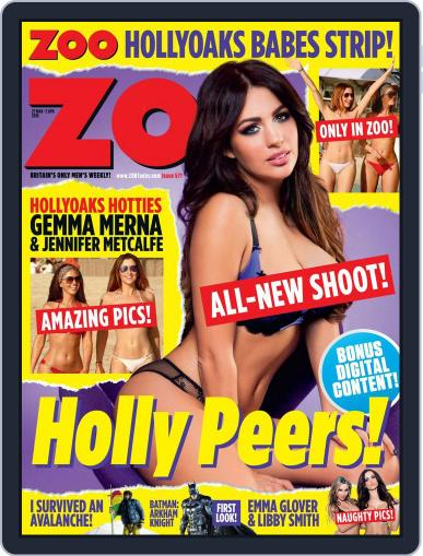 Zoo Magazine Uk March 24th, 2015 Digital Back Issue Cover