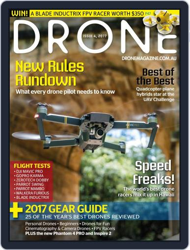 Drone (Digital) January 1st, 2017 Issue Cover