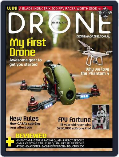 Drone (Digital) June 28th, 2016 Issue Cover