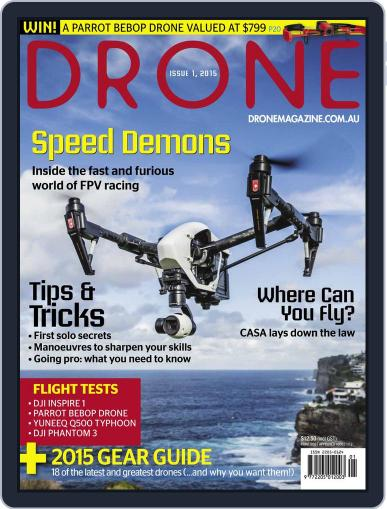 Drone (Digital) December 14th, 2015 Issue Cover