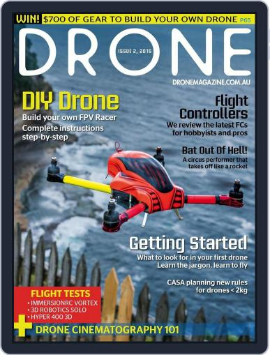 Drone (Digital) December 10th, 2015 Issue Cover