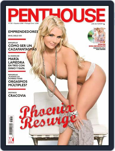 PENTHOUSE España (Digital) December 16th, 2010 Issue Cover