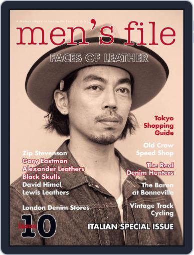 men's file メンズファイル (Digital) June 29th, 2015 Issue Cover