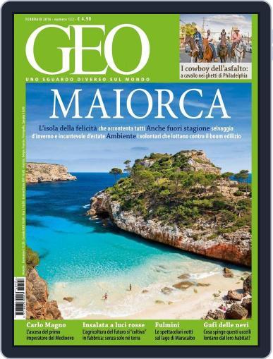 Geo Italia January 23rd, 2016 Digital Back Issue Cover