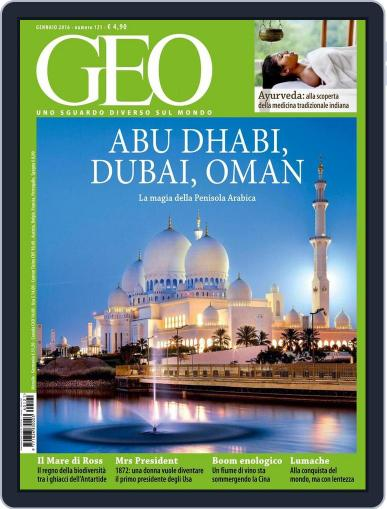 Geo Italia December 19th, 2015 Digital Back Issue Cover