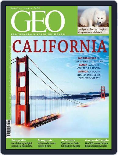 Geo Italia November 19th, 2015 Digital Back Issue Cover